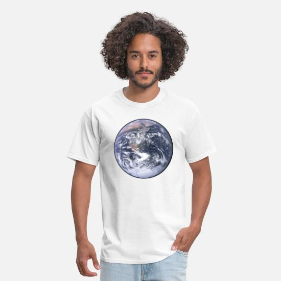 Earth T-Shirts - Earth - Planet - The World - Mother Earth - Men's T-Shirt white
