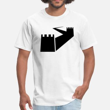 Great Wall Great Wall of China Silhouette - Men's T-Shirt