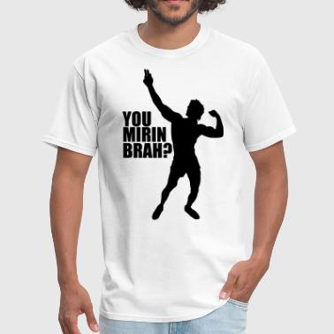 Zyzz Silhouette You mirin brah? - Men's T-Shirt