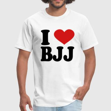 I Love Bjj I Love BJJ - Men's T-Shirt