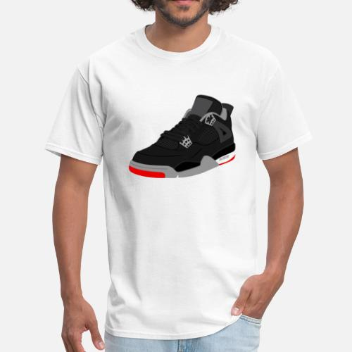 online store a4663 f48a2 ... jordan 4 bred by tee4daily Spreadshirt ...