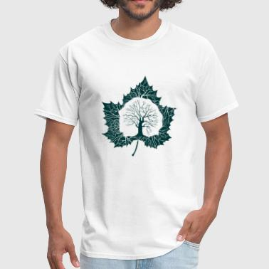 Forest Leaf - Men's T-Shirt