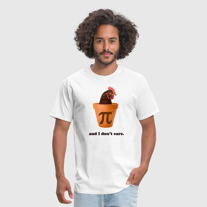 Chicken Pot Pi (and I don't care) - Men's T-Shirt