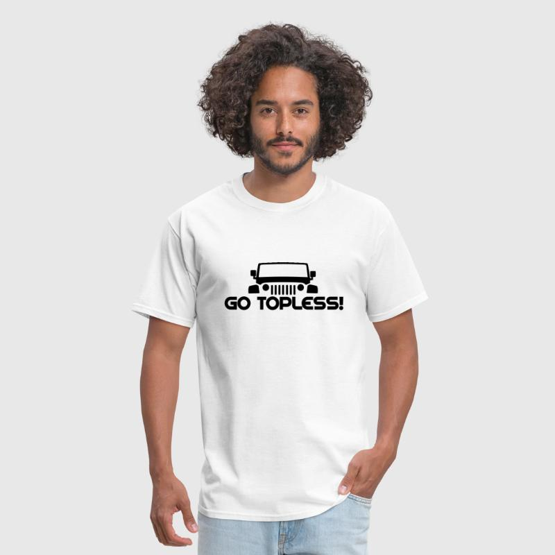 GO TOPLESS! JEEP JK - Men's T-Shirt
