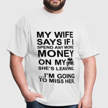 Jeep Wife Going to Miss Her - Men's T-Shirt