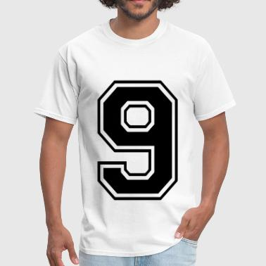 9 Number 9 - Men's T-Shirt