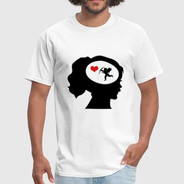 Only Love On My Mind - Men's T-Shirt