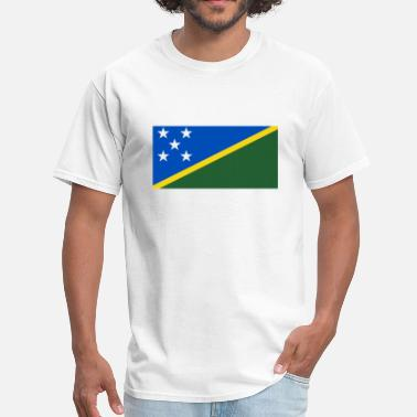 Solomon Solomon Islands Flag - Men's T-Shirt