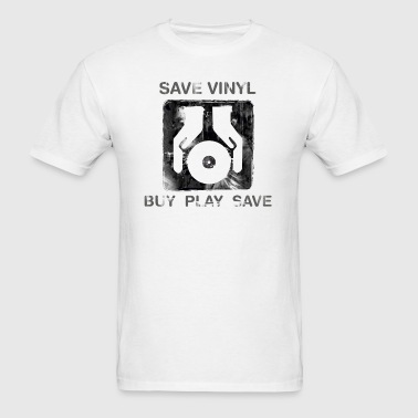 Save Vinyl DJ - Men's T-Shirt