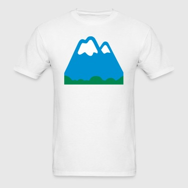 Snowy Mountains  - Men's T-Shirt