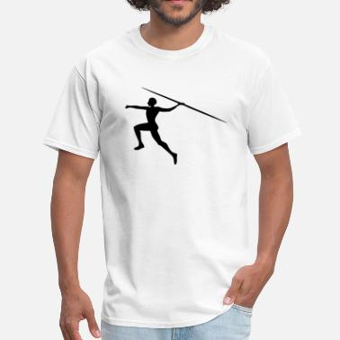 Throw Up Javelin Throwing / Spear Throw - Men's T-Shirt