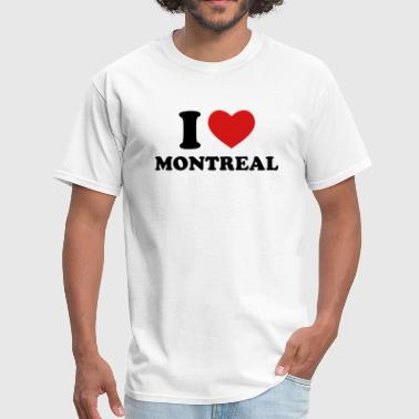 Montreal I Love Montreal - Men's T-Shirt