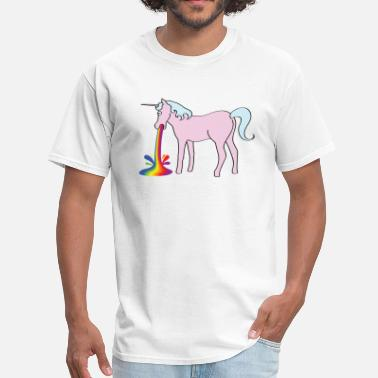 Gays Pics Inappropriate Unicorn - Men's T-Shirt
