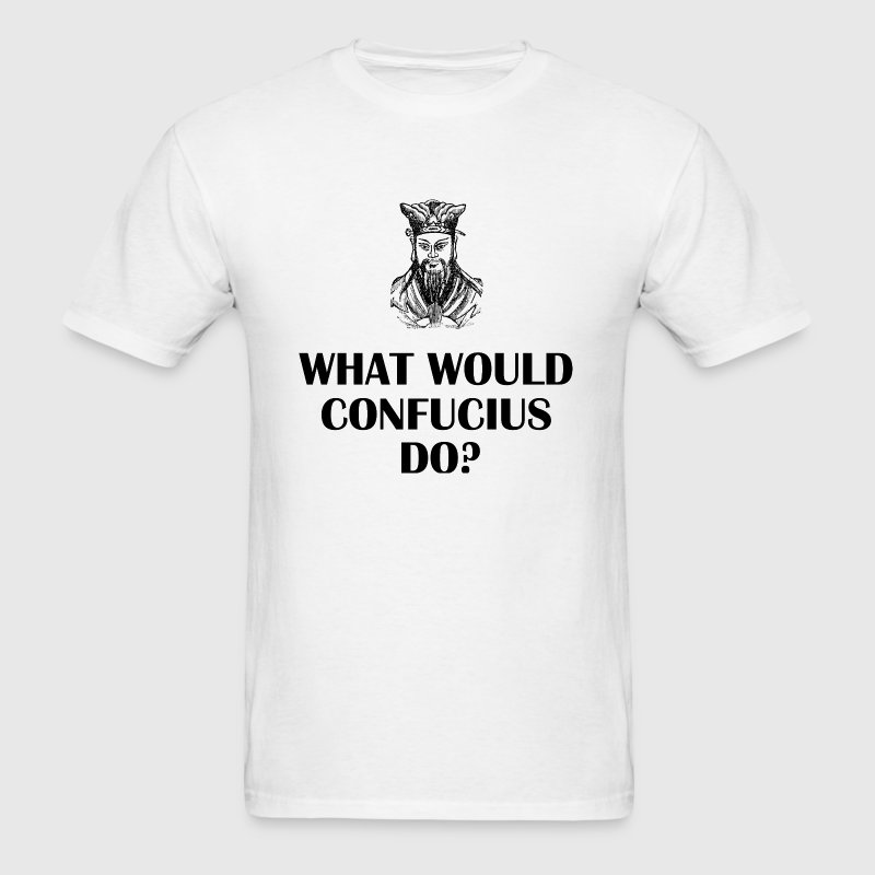 confucius - Men's T-Shirt