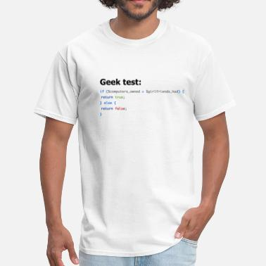 Geek Ultimate Geek Test - Men's T-Shirt