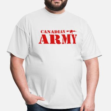 Military Canadian Army - Men's T-Shirt