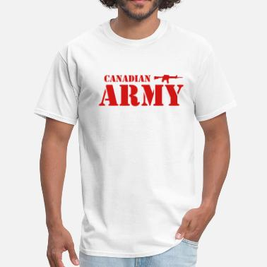 Canadian Military Canadian Army - Men's T-Shirt