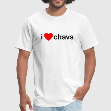 I Love Chavs DJ - Men's T-Shirt