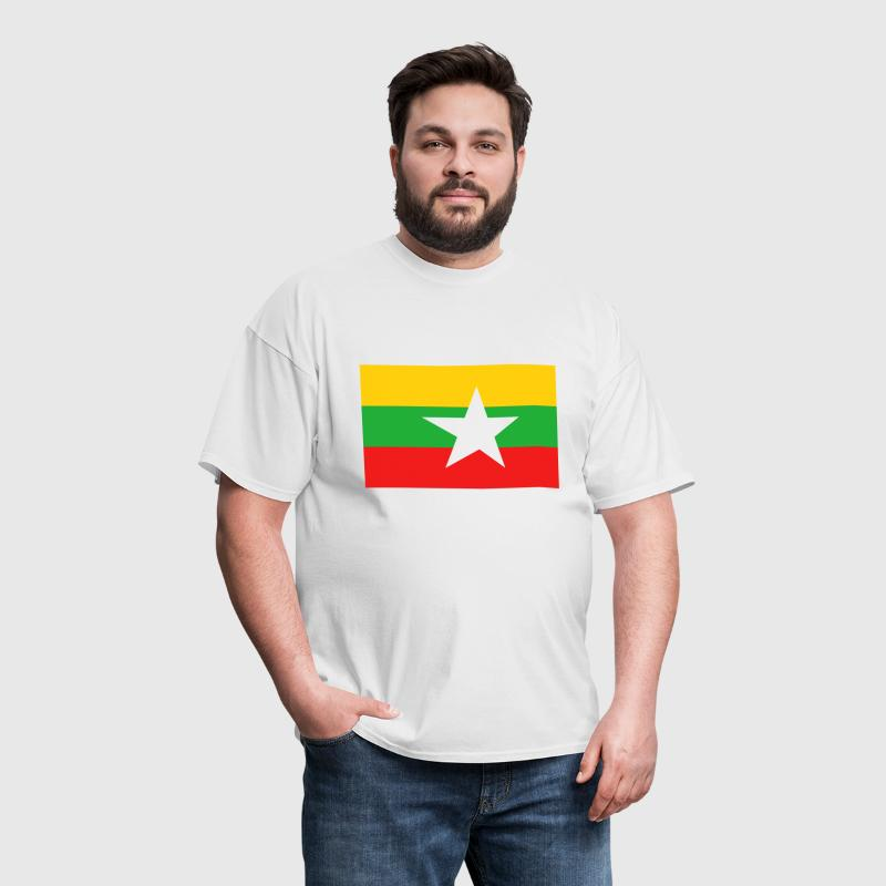 Myanmar Flag - Men's T-Shirt