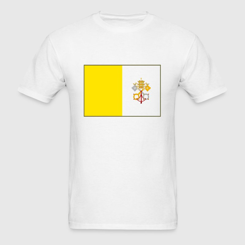 Vatican City Flag - Men's T-Shirt