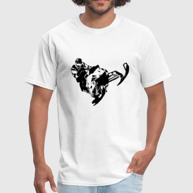 Snowmobile - Men's T-Shirt