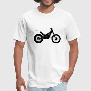 Motorcycle Trial Bike - Men's T-Shirt
