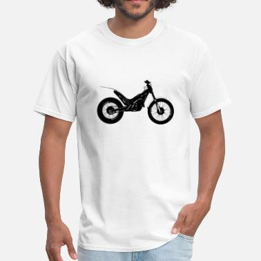Trial Bike Motorcycle Trial Bike - Men's T-Shirt