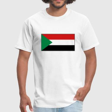 Khartoum Sudan Flag - Men's T-Shirt