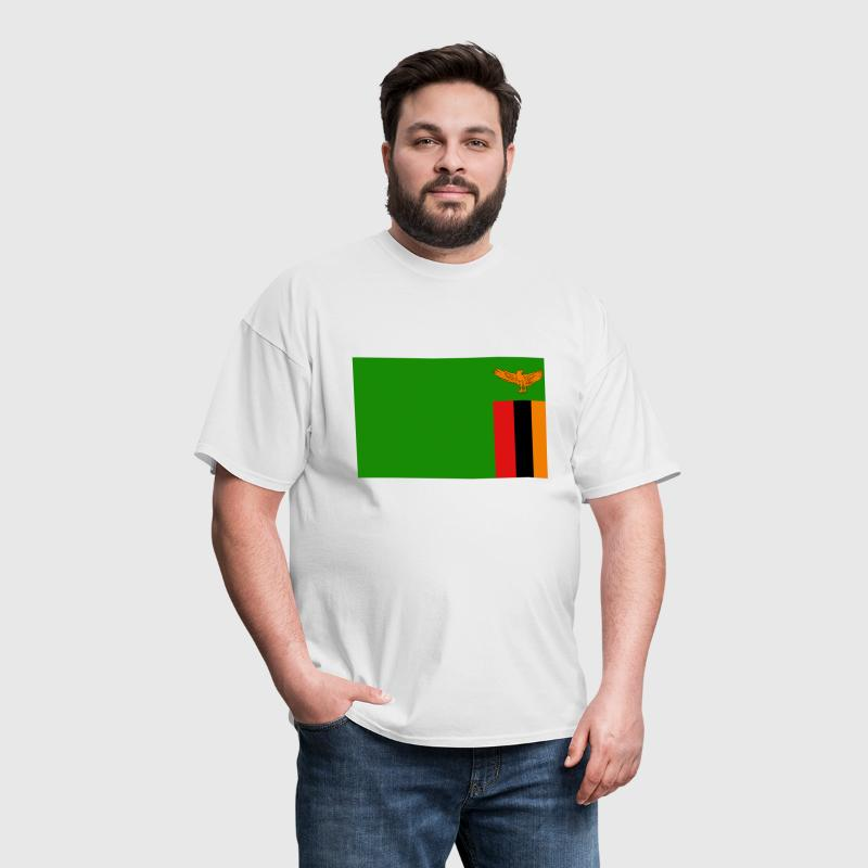 Zambia Flag - Men's T-Shirt