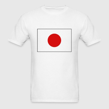 Japan Flag - Men's T-Shirt