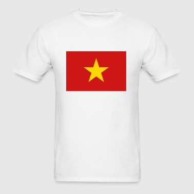 Vietnam Flag - Men's T-Shirt
