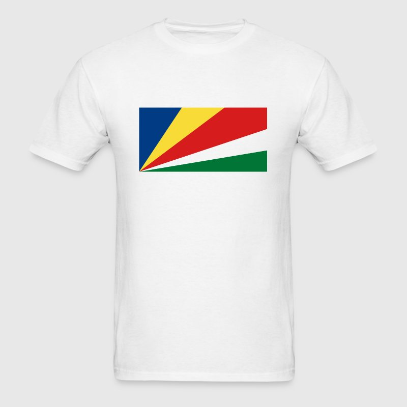 Seychelles Flag - Men's T-Shirt
