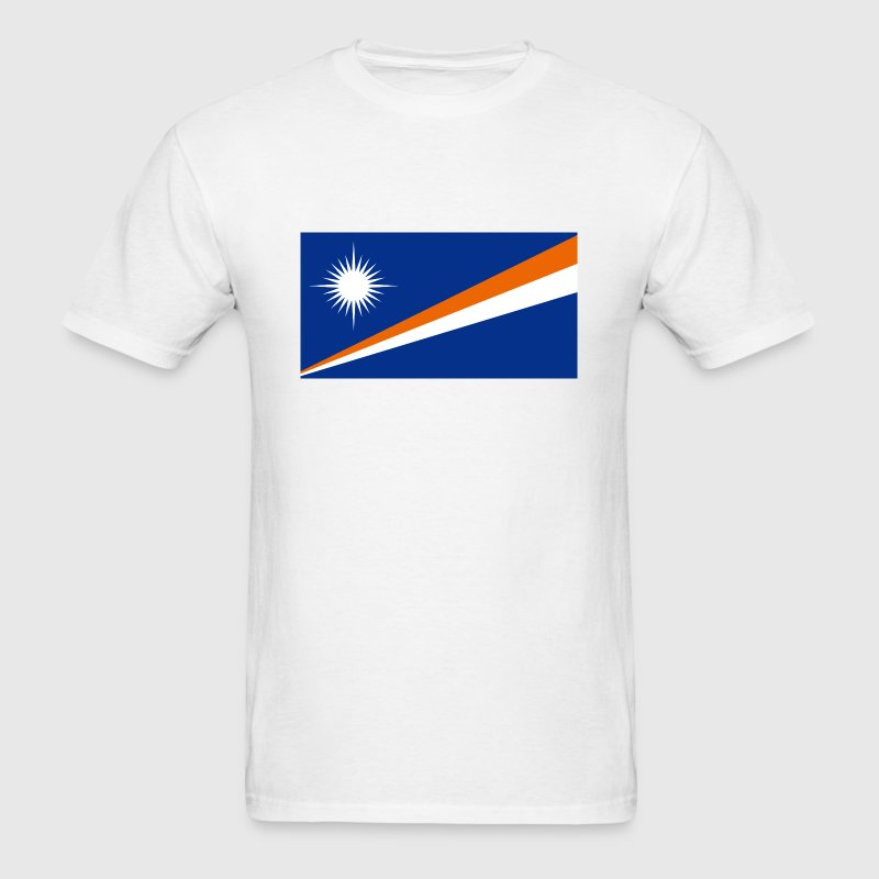 Marshall Islands Flag - Men's T-Shirt