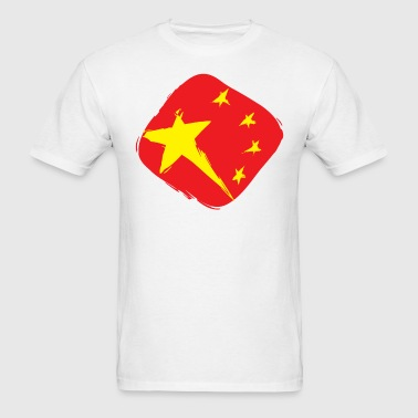 Flag of China - Men's T-Shirt
