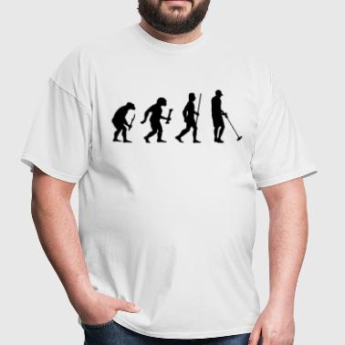 Evolution Metal Detecting - Men's T-Shirt