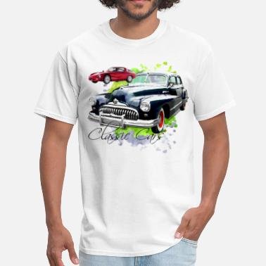 Car Classic Cars - Men's T-Shirt