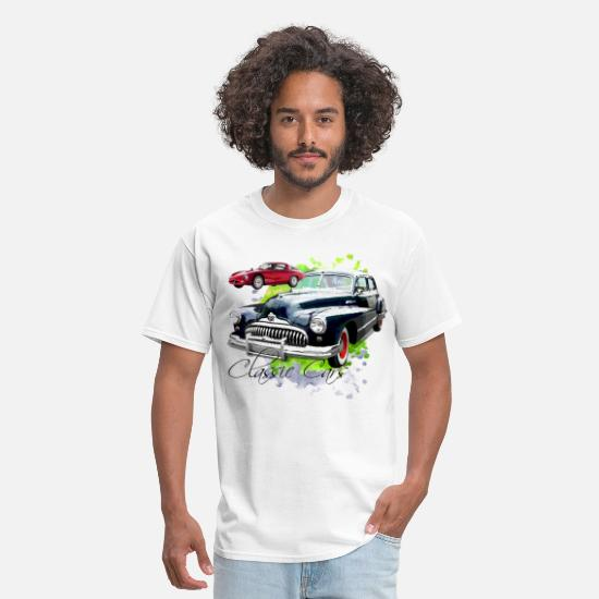 Classic T-Shirts - Classic Cars - Men's T-Shirt white