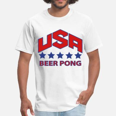 Usa Beer Pong USA Beer Pong Team - Men's T-Shirt