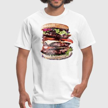 Cheeseburgers Rule~ - Men's T-Shirt