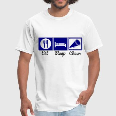 Eat, Sleep, Cheer - Men's T-Shirt