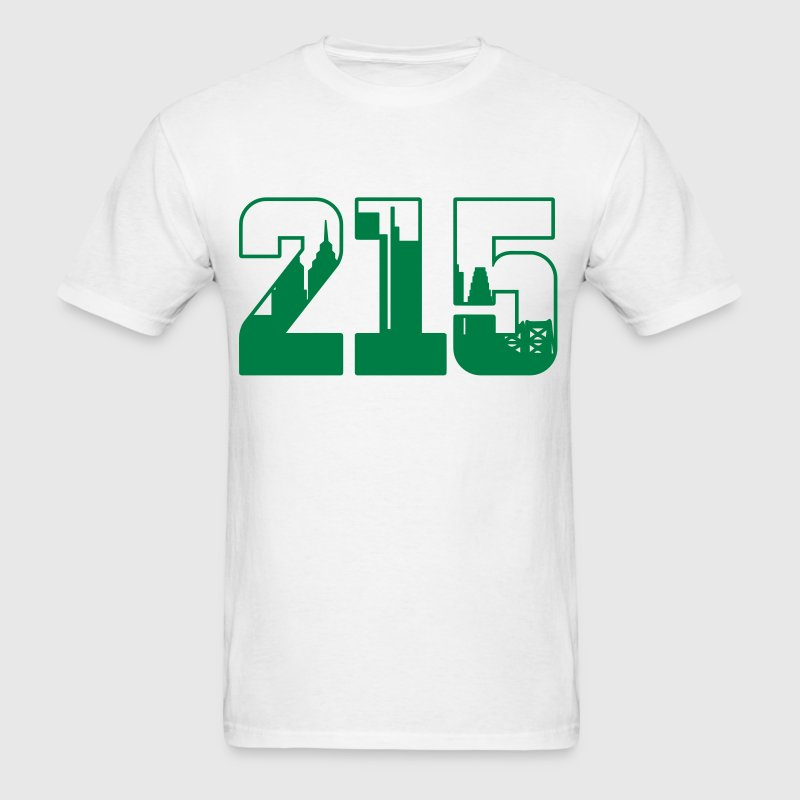 215 Skyline - Men's T-Shirt