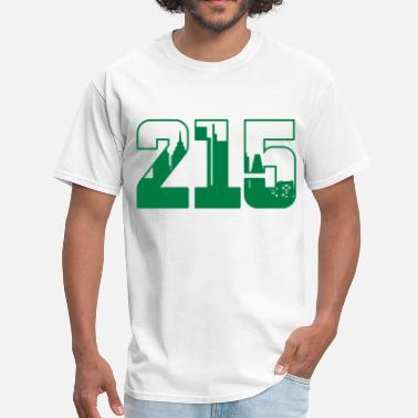 Philly 215 Skyline - Men's T-Shirt