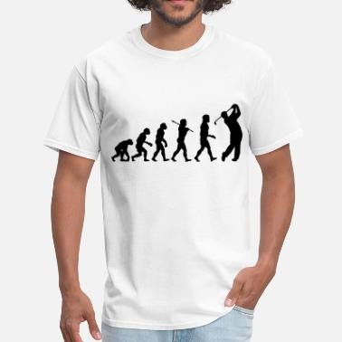 Ape Man Golf Evolution - Men's T-Shirt