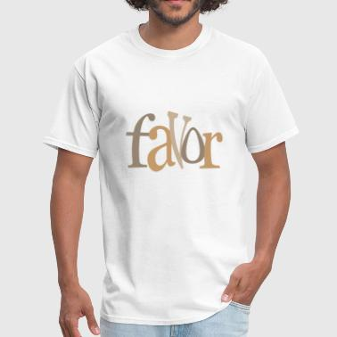 Favorable favor 03 - Men's T-Shirt