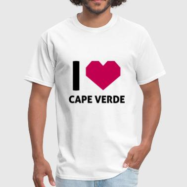 I Love Cape Verde - Men's T-Shirt