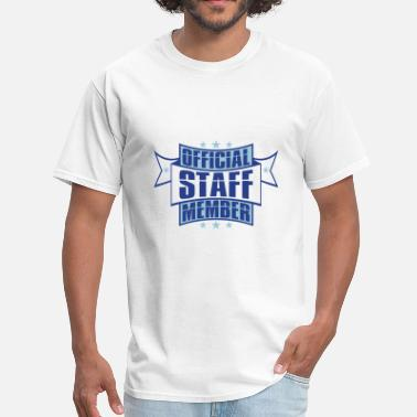 Vip emblem star employee banner stamp sticker official - Men's T-Shirt
