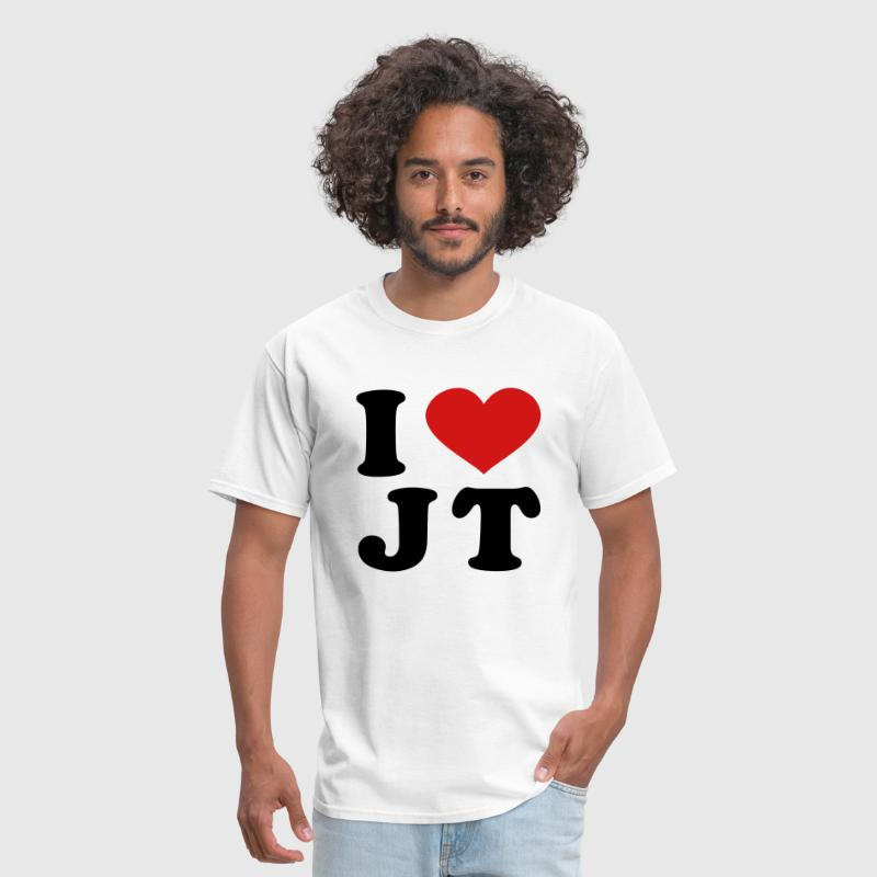 I Love JT - Men's T-Shirt
