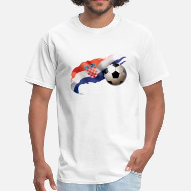 Zagreb Croatia Soccer - Men's T-Shirt