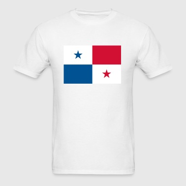 Flag of Panama - Men's T-Shirt