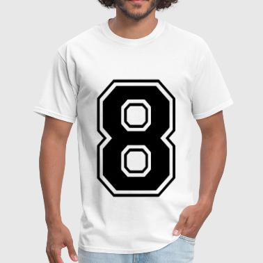 Number 8 - Men's T-Shirt